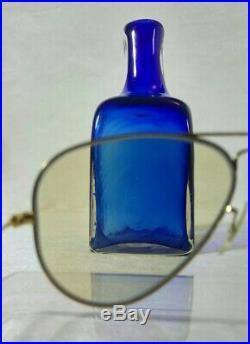 Vintage 2 Paires de lunettes de soleil Ray-ban B&L Aviator 1/30 12K GF LIC 60's