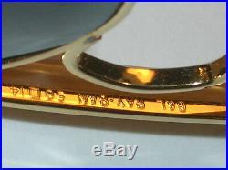Vintage B&L Ray Ban L0216 G15 UV Lentille Verre Outdoorman Aviators Soleil