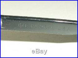 Vintage B&L Ray Ban L2870 Noas G15 Cristal Noir Ébène Balorama Drapé Soleil