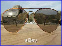 Vintage B&L Ray Ban U. S. A. Tortuga Inserts Changeables Aviator Sunglasses