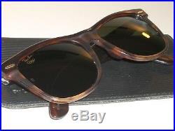 Vintage B&L Ray-Ban W2245 G15 Tort 1996 Atlanta Olympique Wayfarer II