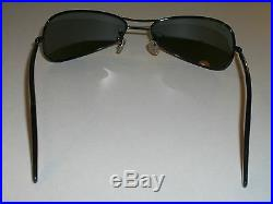Vintage B&L Ray-Ban W2384 Superbe Brillant Noir G15 Incurvé