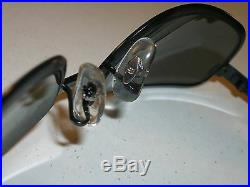 Vintage B&L Ray-Ban W2807 Nwas Sidestreet Noir G15