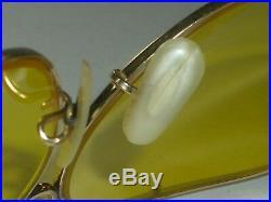 Vintage B&l Ray-ban 1/20 10K Gf Kalichrome Decot Chasse Lunettes de Soleil