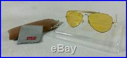 Vintage Lunettes de soleil Ray-ban B&L Outdoorsman Ambermatic 5814 1970's SUP