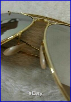 Vintage Lunettes soleil Ray-ban B&L Aviator Outdoorsman G-15 Mirror Lenses 70's
