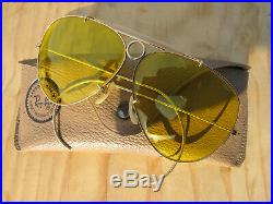 1960 Shooter B Sunglasses Vintage Ray Bullet Kalichrome Hole Ban amp;l JTclFK1