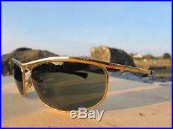 6a85b0a1e92 Vintage Ray Ban B L U. S. A. L0255 Olympian I Deluxe Easy Rider Sunglasses