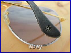 Vintage Ray Ban B&L U. S. A. Masterpiece Precious Metals Tungsten 24K Gold Aviator