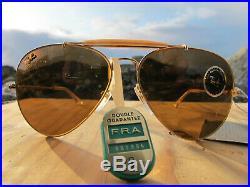 Vintage Ray Ban B&L U. S. A. Roland Garros 1991 N. O. S. Precious Metal Aviators