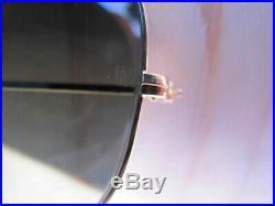 Vintage Ray Ban B&L U. S. A. Sharpshooter 1980's G15 Lenses Aviator Sunglasses