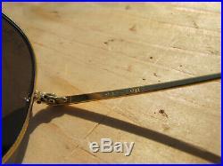 Vintage Ray Ban B&L U. S. A. The General 1937-1987 RB50 Lenses ODM Aviators