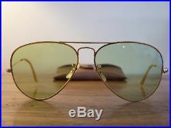 B Vert Ray Photochromic Vintage Lunettes De Soleil Ban amp;l Aviator 29eWEDYHIb