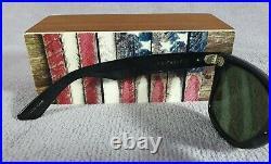 °Vintage sunglasses Ray-Ban B&L USA Wayfarer W1086 Blue mosaic G-15
